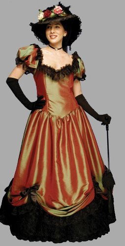 "Deluxe ""Belle Watling"" Saloon Madame Costume- Theatrical Quality"