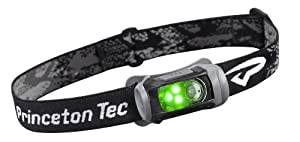 Princeton Tec Remix 100 Lumens Black Headlamp with Green LEDs