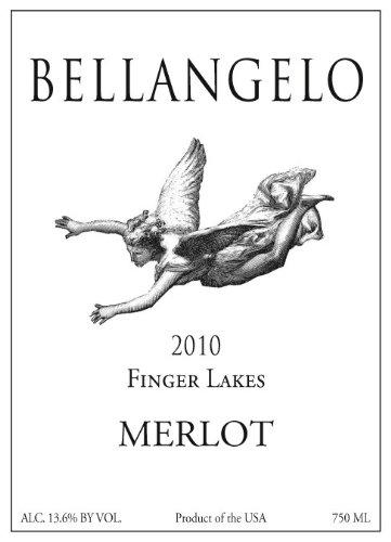 2010 Bellangelo Finger Lakes Merlot 750 Ml