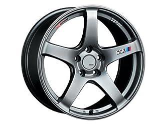 SSR-T418850+4405CPS SSR GTV01 18×8.5 5×100 44mm Offset Phantom Silver Wheel 02-05 WRX