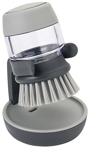 joseph-joseph-palm-scrub-brosse-avec-reservoir-liquide-vaisselle-gris