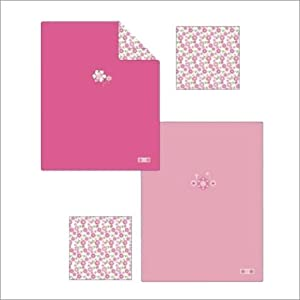 Sugar & Spice Polar Fleece Blanket Color: Light Pink