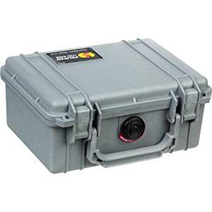 Pelican 1150 Case with Foam for Camera (Silver)