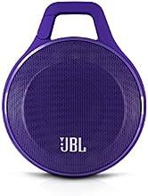 JBL Clip  Enceinte Ultra Légère Bluetooth Sans Fil Portable et Solide pour un Usage Interne/Externe Rechargeable avec Mousqueton Intégré Compatible avec Apple iOS et Smartphones Android Smartphones, Tablettes et Appareils MP3 - Mauve