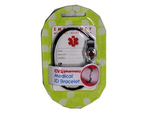 CVS Medical Alert ID Bracelet With Info Wallet Card