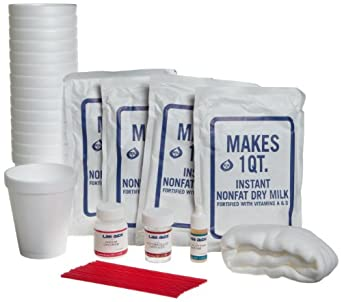 Lab-Aids 5 55 Piece Cheese Making Kit