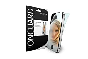 Onguard Mirror Protector for Apple iPhone 4 - 2 Pack - Retail Packaging - Black/White