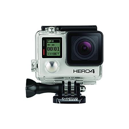 GoPro HERO4 Black Adventure Caméra embarquée 12 Mpix Wifi Bluetooth