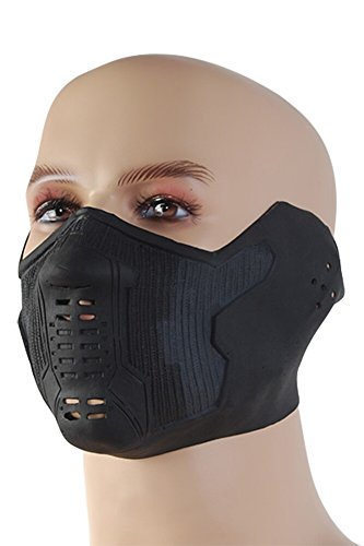 Winter Soldier Cosplay Latex Mask
