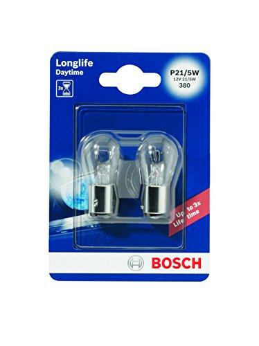 Bosch 1987301055 2 Lampadine, 12V P21/5W Daytime