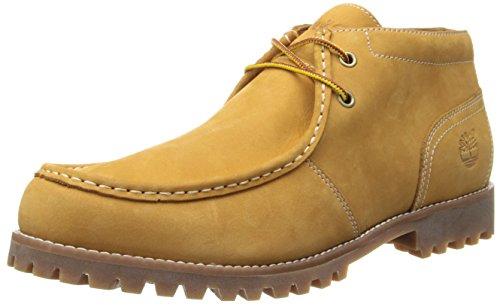 Timberland Men's Oakwell Moc Toe Chukka Chukka Boot,Wheat Nu