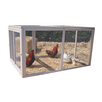 Precision Pet Extreme Hen House Pen, 55.12 by 37.99 by 30.12-Inch (Chicken Houses And Pens compare prices)