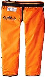 Arborwear Men's Apron Rac. Chap Regular, Safety Orange, Regular
