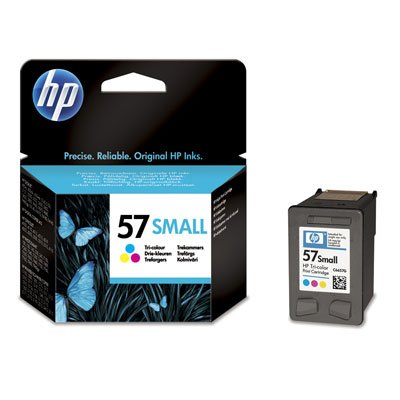 1 cartouches d'encre Hp 57SMALL original C6657GE#301 Cyan, Magenta, Jaune 165 pages pour Hp 57SMALL