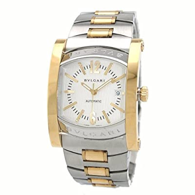 Mens Bvlgari Assioma Gold Steel 2 Tone Automatic Watch 101534