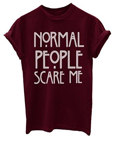 Standard persone Scare Me cover da donna Unisex adatto a T-maglietta