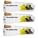 Corkcicle 5060C Wine Chiller 3 Pack - This Multi-Pak comes with 3 individually packaged units ready for gift wrapping