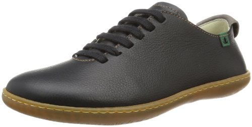 El Naturalista - Sneaker N296 P.GRAIN BLACK/ EL VIAJERO Unisex - adulto, Nero (Schwarz (Black)), 37