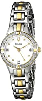 Bulova Women's 98R166 Diamond Case Watch