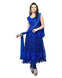 Leela Creators Brasso Net Suit (Blue)