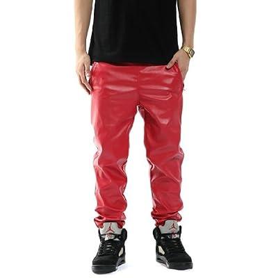 Zero Quality Unisex Leather Slim Pants