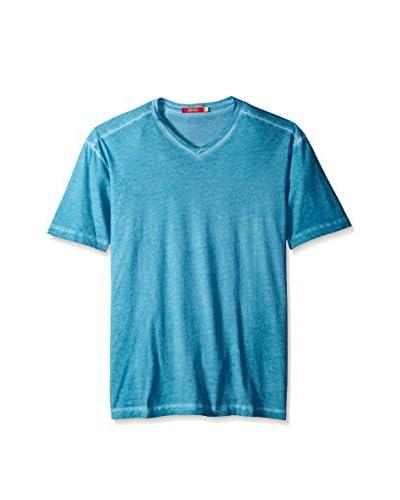 Agave Men's Short Sleeve Crew Neck Antique Wash T-Shirt