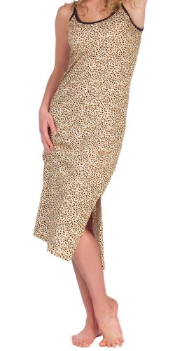 Leopard Print Cotton Nightgown for Women Reviews
