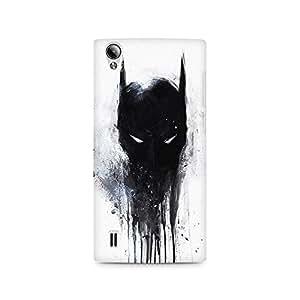Ebby Fading Batman Mask Premium Printed Case For Vivo Y15
