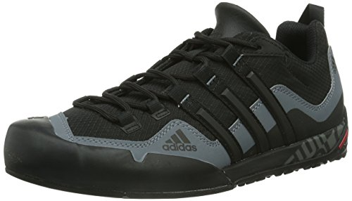 adidas Terrex Swift Solo, Unisex-Erwachsene Outdoor Fitnessschuhe, Schwarz (Black/BLACK/LEAD), 40 2/3 EU (7 Erwachsene UK) thumbnail