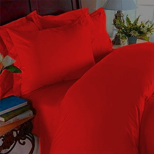Red Duvet Cover Twin front-122328