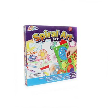 Kids Creative Spiral Art Set - Holiday Gift
