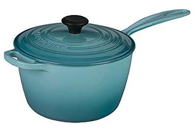Le Creuset LS2518- 2017 Signature Cast Iron Sauce Pan