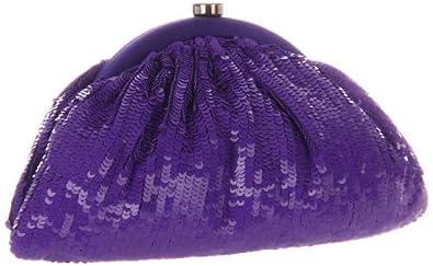 SANTI 4075X-CPB Clutch,Purple,One Size