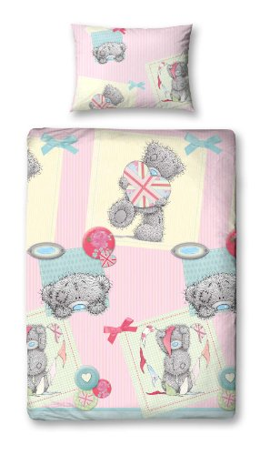 Character World 135 x 200 cm Me To You Vintage Single Rotary Duvet Set