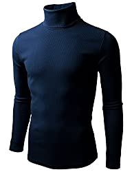 Doublju Mens Long Sleeve Cottne Knitt…