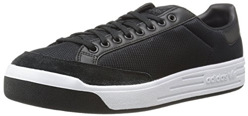 Adidas Originals Men's Rod Laver Sneaker, Core Black/Black/Running White, 10 M US