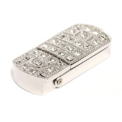 8GB Sparkly Flip USB Memory Stick - Flash Drive/School/Novelty/Gift from Round Wood Trading