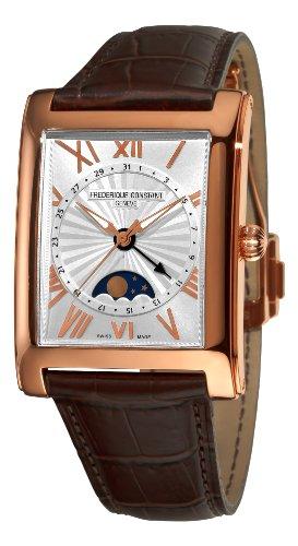 frederique-constant-homme-34mm-bracelet-cuir-crocodile-marron-saphire-automatique-montre-fc-330ms4mc