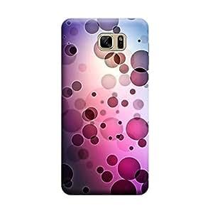Desicase Samsung Note 7 Bubbles Art 3D Matte Finishing Printed Designer Hard Back Case Cover (Multicolor)