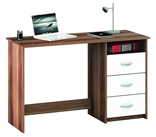 Demeyere-1001-Schreibtisch-Aristote-3-Schubladen-und-1-Nischen-merano-wei