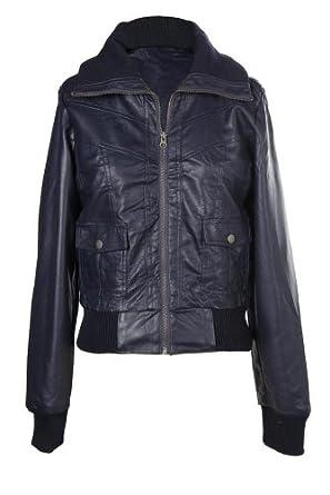 G2 Chic Women's Zip Bomber Jacket(OW-JKT,DBL-M)