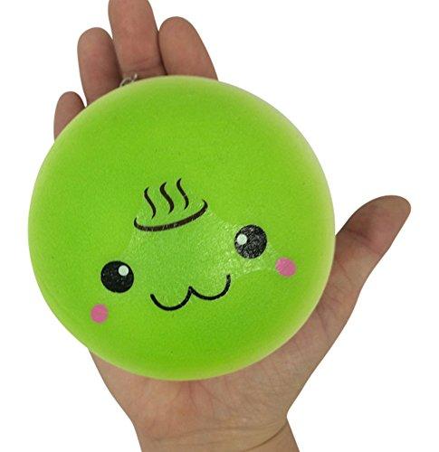 Squishy Steam Bun : Jenna Lyn Squishies:Squishy Slow Rise JUMBO Kawaii Face Steam Bun Bo - on Sale for  USD13.97