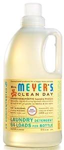 Mrs. Meyer's Clean Day Laundry Detergent Baby Blossom -- 64 fl oz