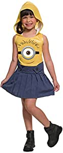 Rubie's Costume Minion Face Hooded Dress