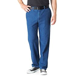 Haggar Comfort Equipped Plain Front Casual Slacks