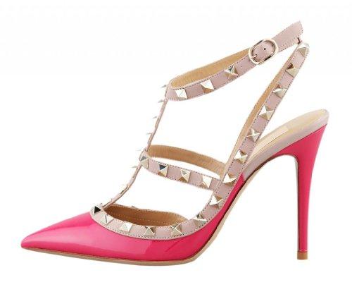 onlymaker-damenschuhe-high-heels-spitze-toe-schnalle-slingback-sandale-glattleder-pink-eu39