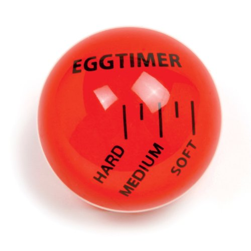 Making Sriracha Roasted Red Pepper Deviled Eggs is easy with a Norpro 5903 Egg Timer