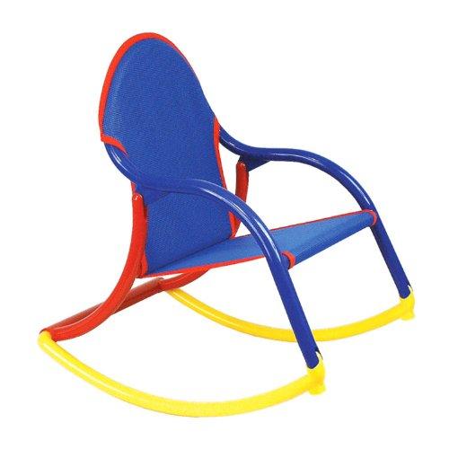 Hoohobbers Rocking Chair, Blue Mesh  All Furniture Shop