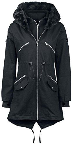 Vixxsin 317 Blic Cappotto donna nero XL