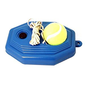 Buy Enjoydeal Tennis Training Sports Device Tennis Toy Tennis Ball with Elastic String and Base Plate by Enjoydeal